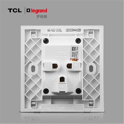 tcl开关插座 罗格朗插座面板二三插